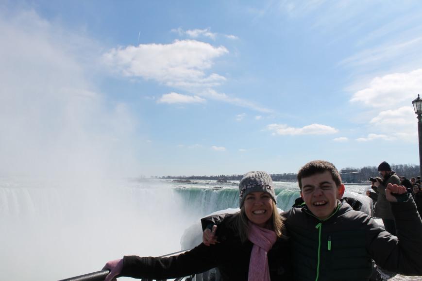 me & nick at falls